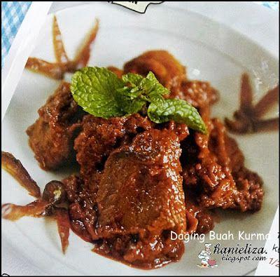 Hanieliza's Cooking: Daging Buah Kurma