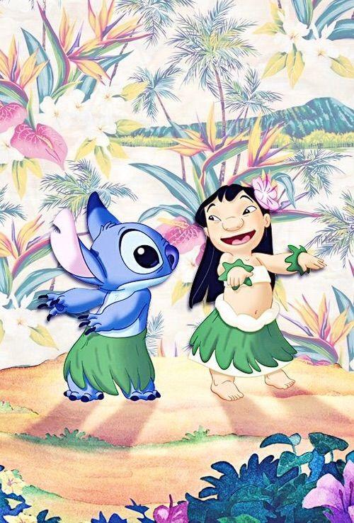Lilo & Stitch iPhone Wallpaper