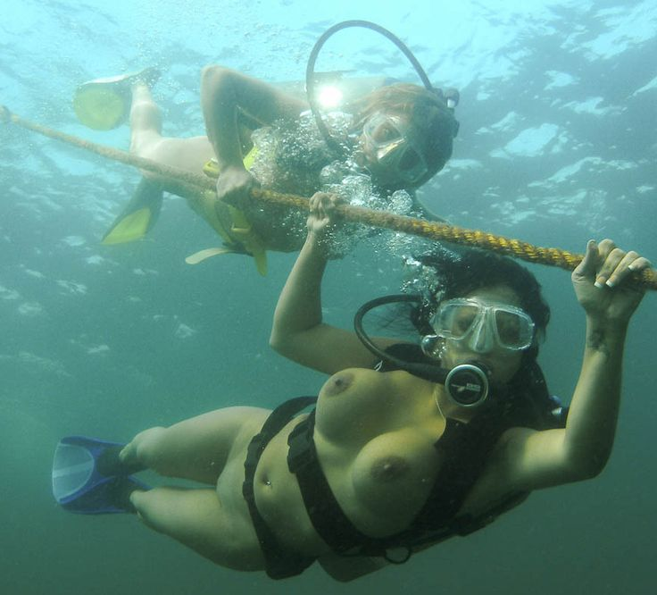 Nude scuba diving movie really