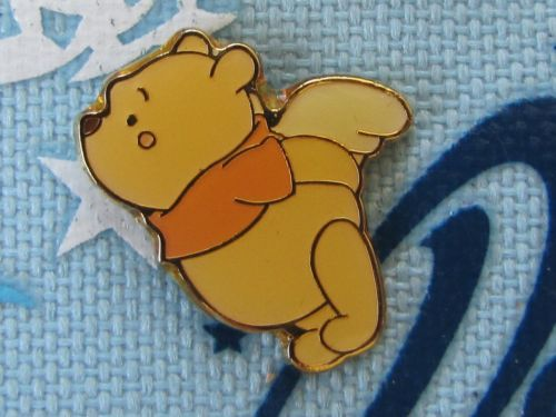 Cartoon Trading pins non  | Japan Disney Trading Pin - Cute Little Winnie The Pooh Flying Angel ...