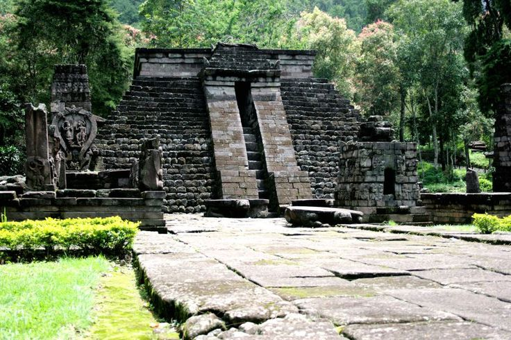 Candi Sukuh Temple |  Located on the western slope of Mount Lawu, Central Java, we can find the Javanese-Hindu temple of Sukuh believed to date back to the 15th century and a fifth-century Javanese-Hindu temple called the Cetho temple. The Sukuh is a unique temple very distinctive to other temples in the region and its main monument is a pyramid structure that has several reliefs and statues in the vicinity. The temples of Sukuh and Ceto do not resemble traditional Majapahit architecture as…