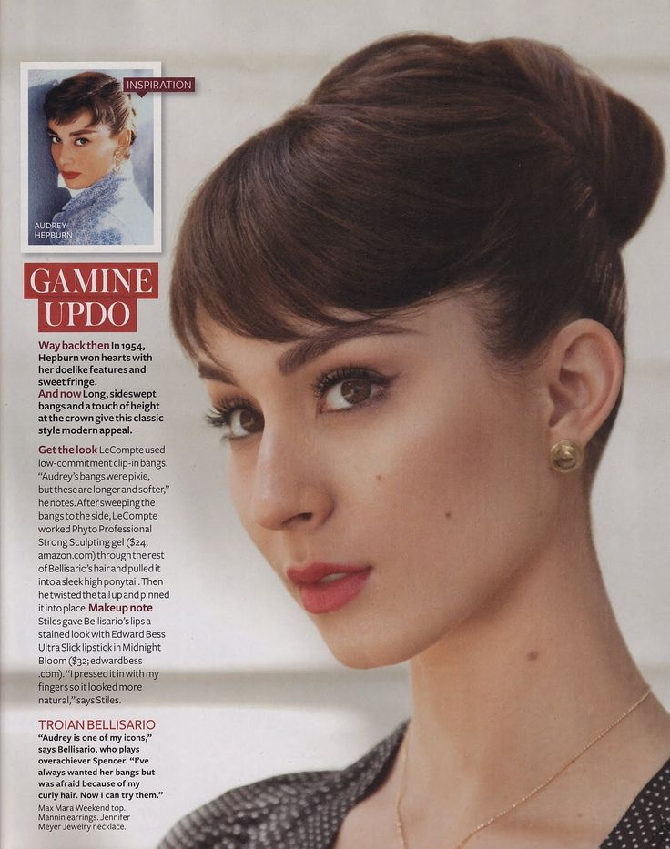 Astounding 1000 Ideas About Audrey Hepburn Hairstyles On Pinterest Audrey Short Hairstyles For Black Women Fulllsitofus