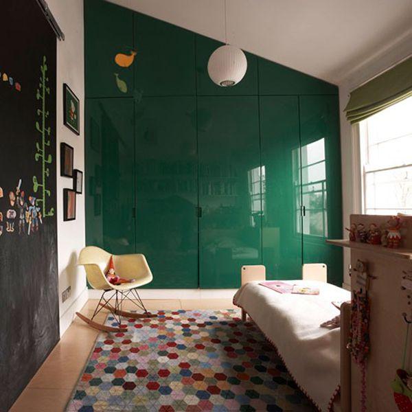 Green gender-neutral kids' rooms « Growing Spaces