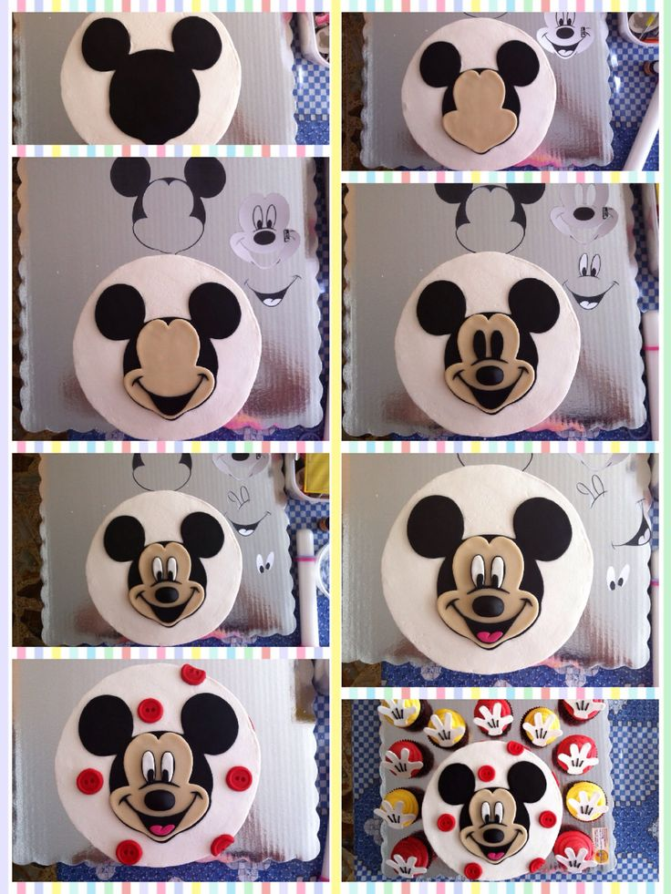Mickey Mouse Cake Lo 250 Ltimo Pinterest Mickey