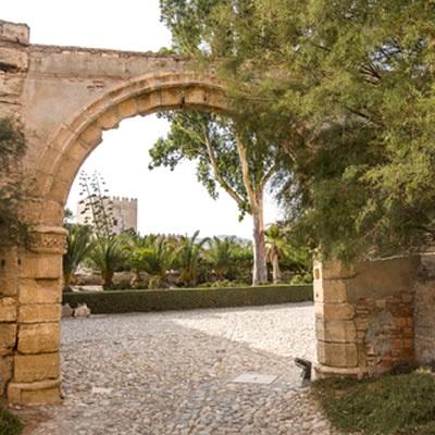 Almeria Alcazaba gardens