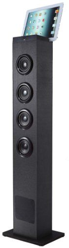 Sylvania SP386 Bluetooth 2.1 Channel Tower Speaker With Built In Subwoofer