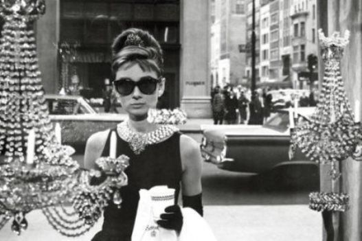 Audrey Hepburn - Breakfast at Tiffany's Shopping Poster - (24x36) NEW #Gallery