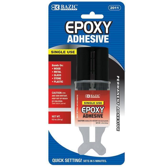 0 2 Oz / 5 6g Quick Setting Epoxy Glue W/ Syringe Applicator