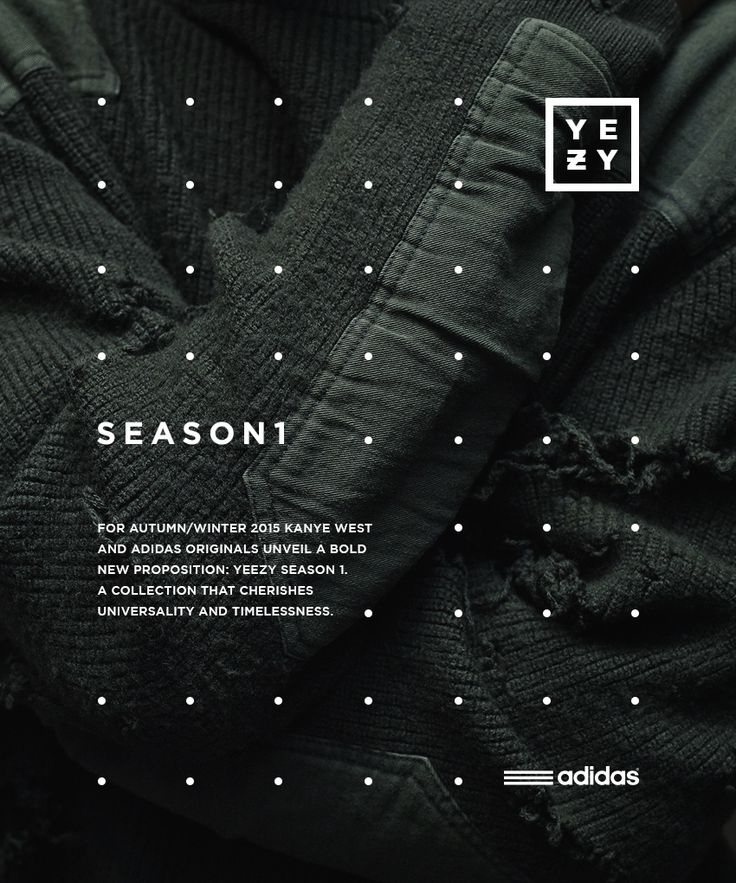 Adidas Originals x Kanye West YEEZY SEASON 1 on Behance                                                                                                                                                     More