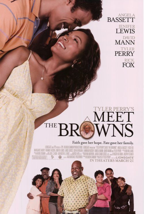 Tyler Perry's Meet The Browns 27x40 Movie Poster (2008)