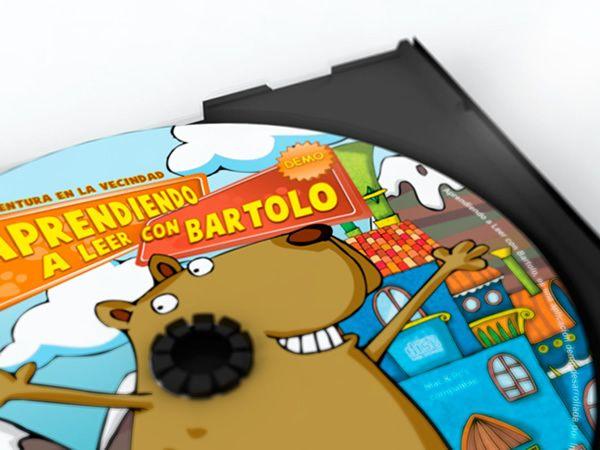 Aprendiendo A Leer Con Bartolo by Lhuis, via Behance