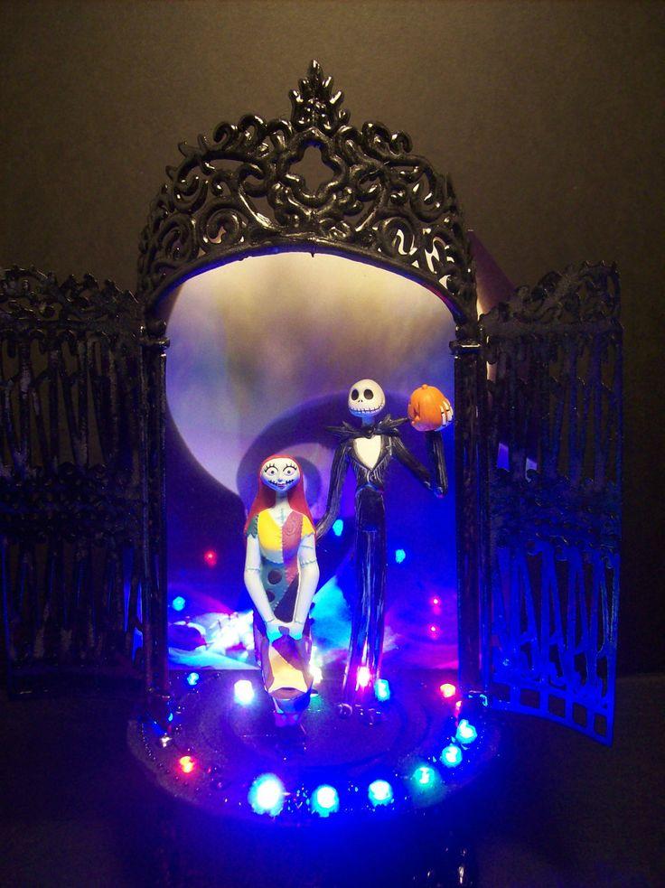 Nightmare Before Christmas Bride Groom Jack And Sally