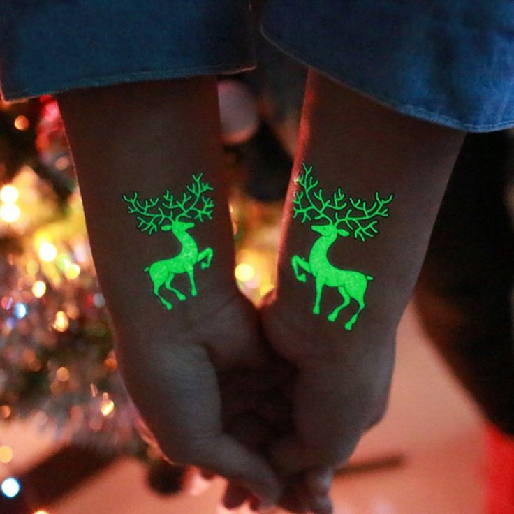 Luminous Temporary Tattoo Sticker Party Decoration Christmas Carnival Party   – Prof. Chyna Gibson