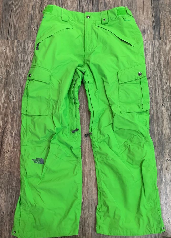 The North Face Cryptic Hyvent Snowpants Green Mens Sz M   3683a7250