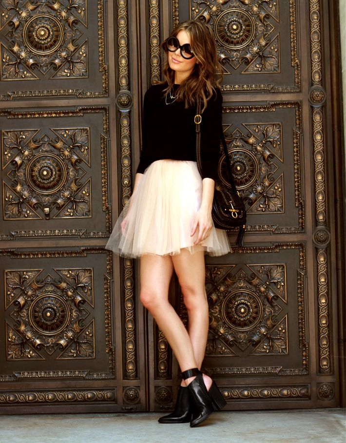 50 Awesome Looks with Tulle Skirt - Sortashion