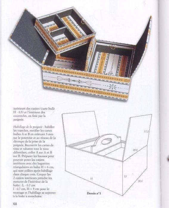 Поделки из картона. Очень милые ранообразные коробочки.. Комментарии : LiveInternet - Российский Сервис Онлайн-Дневников