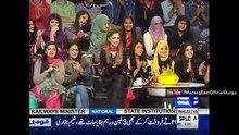 The Awesome World: Mazaaq Raat With Raza Haroon On Dunya News 22nd Fe...