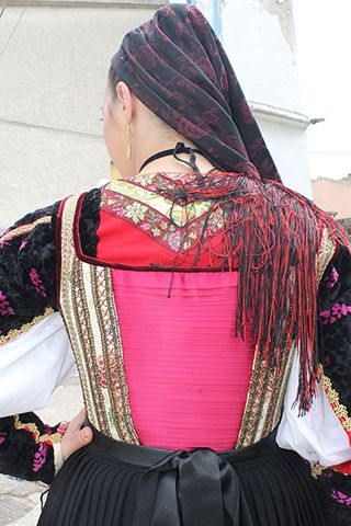 Su giustinu. Costume di Osidda