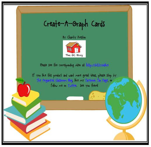 Create-A-Graph Cards  Looking for a fun tech tool to use when teaching graphing skills? Make sure to check out Create-A-Graph's website! I created these math word problem cards to supplement the site, along with blank cards so that you may customize to your needs! Click HERE to watch a video I made that shows you how much fun it is!