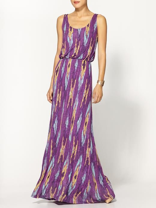Ella moss maxi dress piperlime