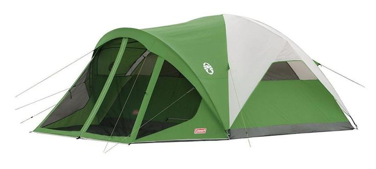 Coleman Evanston Screened Tent 6 Person, Waterproof Floors, Leak-Free Seams, New #Coleman #6Person