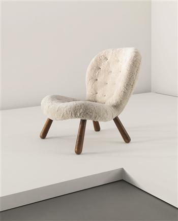 MARTIN OLSEN  Low chair, circa 1930