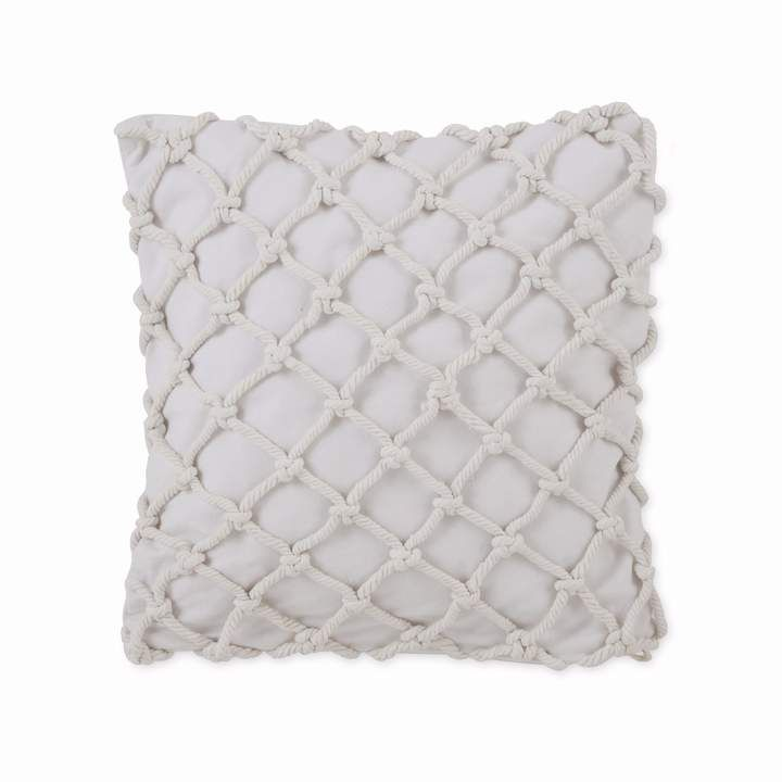 Skipper Stripe Knotted Rope Decorative Pillow Pillow Cotton Rope Throw Pillows Pillows Cotton Throw Pillow