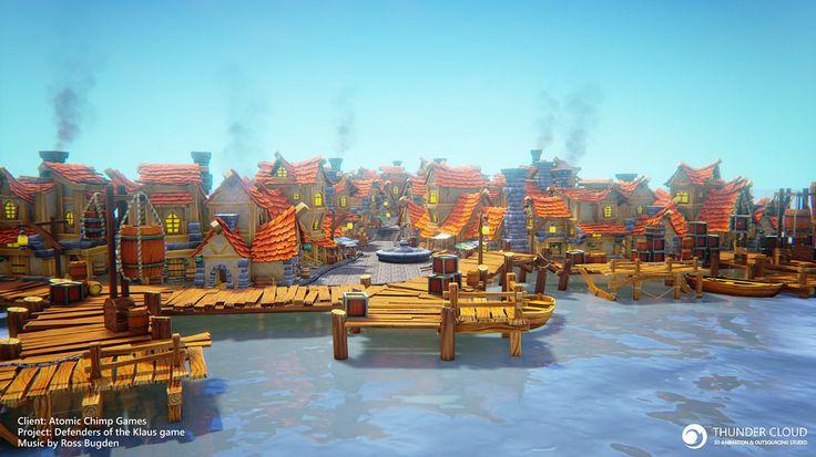 DOK – Pirate village | Thunder Cloud Studio