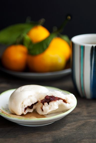 Chinese Sweet Red Bean Steamed Buns - it's been so long since I've had some - can't wait to try this recipe out!