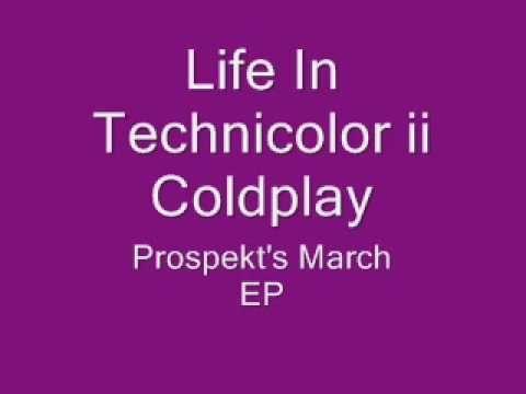 Life In Technicolor ii- Coldplay (lyrics)