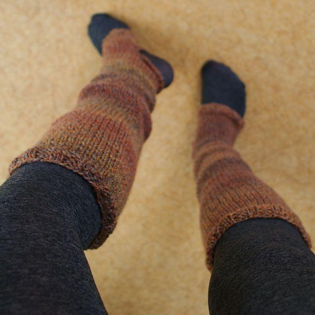 Ravelry: Project Gallery for Sausalito Stirrup Socks pattern by Lion Brand Ya...