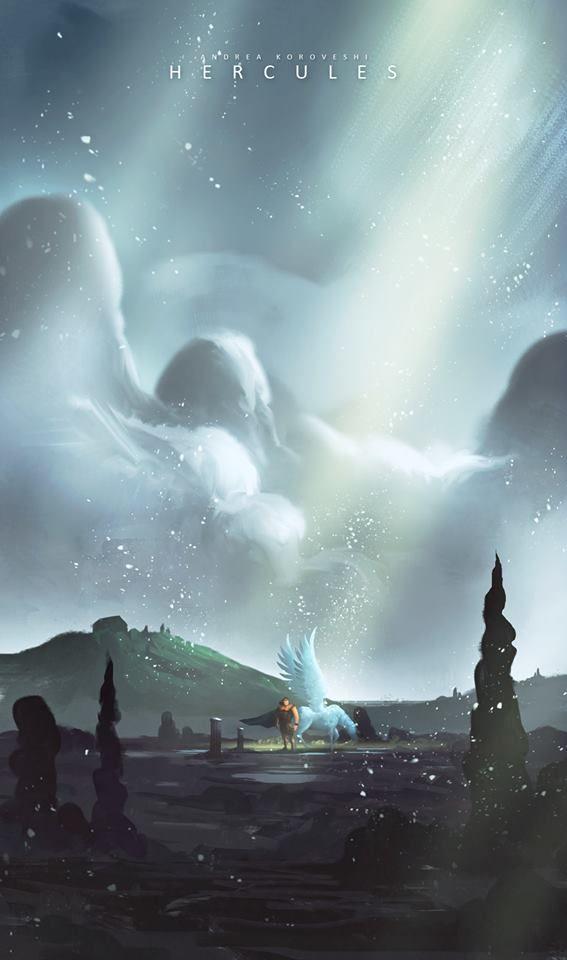 Hercules by Andi Koroveshi