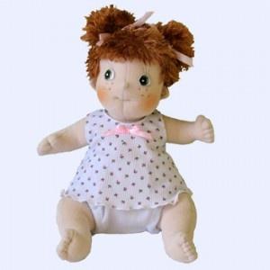 Rubens Barn Ark #pop heeft leuke staartjes en draagt schattig ondergoed. Ze heeft allerlei leuke kledingsetjes die bij haar passen. #speelgoed