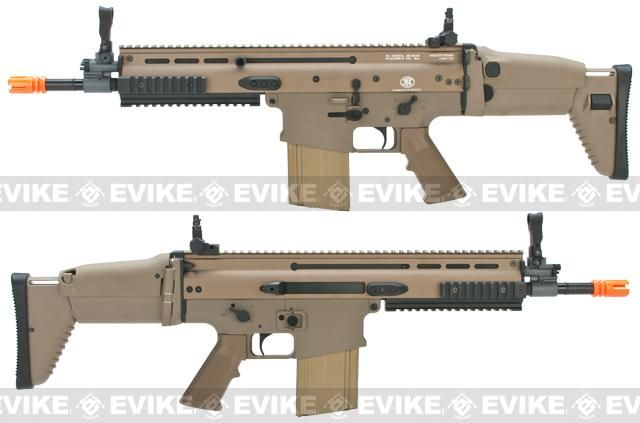 FN Herstal Full Metal SCAR Heavy CQC Airsoft AEG Rifle by VFC - Dark Earth
