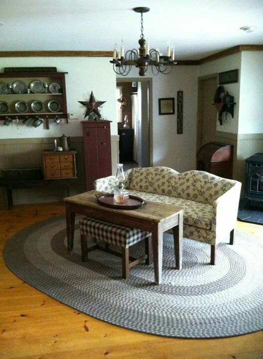 Primitive Country Living Room Decorating Ideas: 1000+ Images About Prim & Colonial Living Rooms On