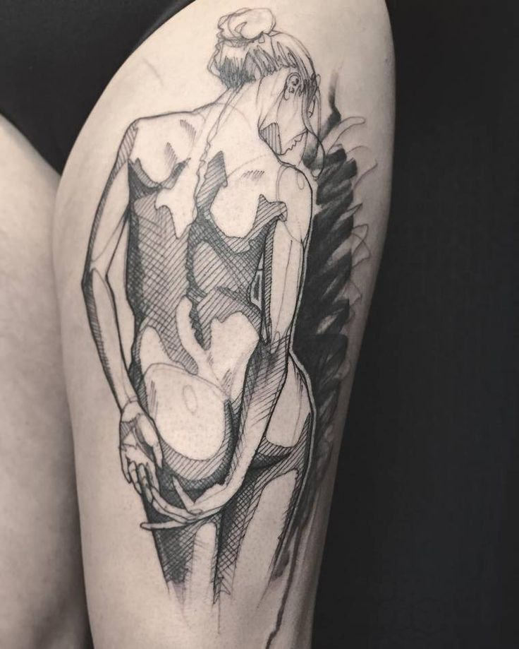 Sketch Tattoos – The creations of L'oiseau