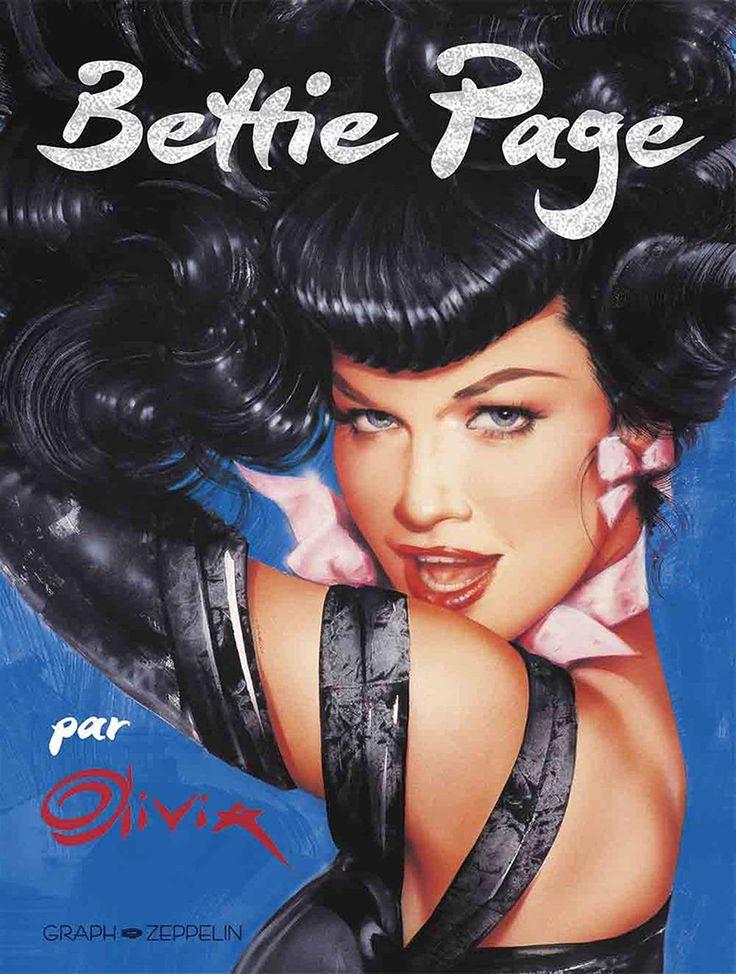 Bettie Page, la pin-up mythique par Berardinis  https://www.ligneclaire.info/bettie-page-par-olivia-56489.html