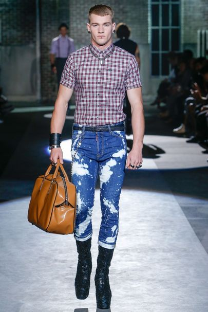 DSquared2 goes heavy on the British influences