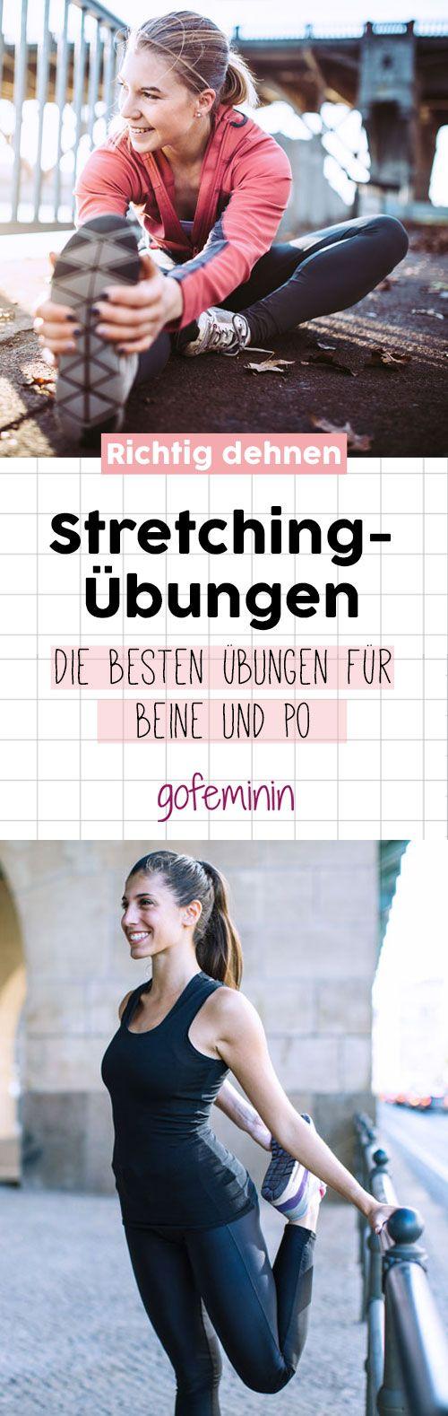 Wir zeigen euch die besten Stretching-Übungen für mehr Beweglichkeit. #sport #fitness #warm up #cool down #workout #fit #strong #stretching #dehnen