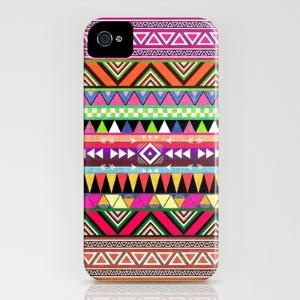 tribal and colorful.: Iphone Cases, Overdo, Style, Phones Covers, Aztec Prints, Phones Cases, Bianca Green, Products, Tribal Prints