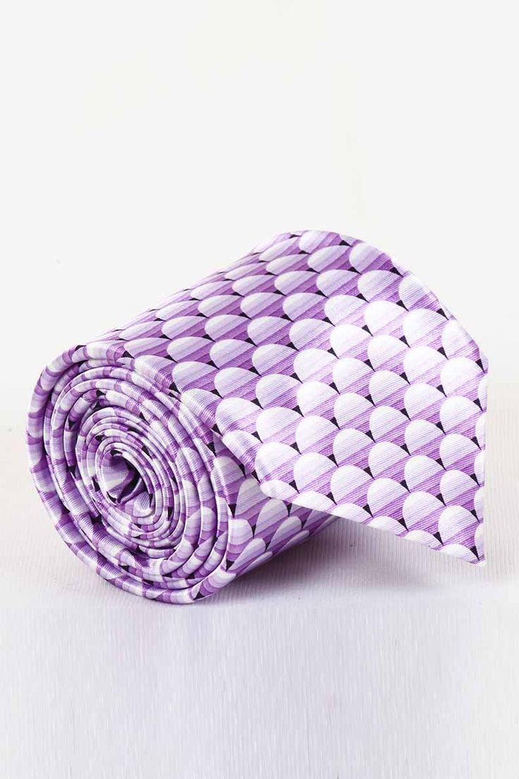 http://tinyurl.com/jquqfg9 Buy ST MARC Purple Silk Printed Ties Online For Men at GetAbhi.com
