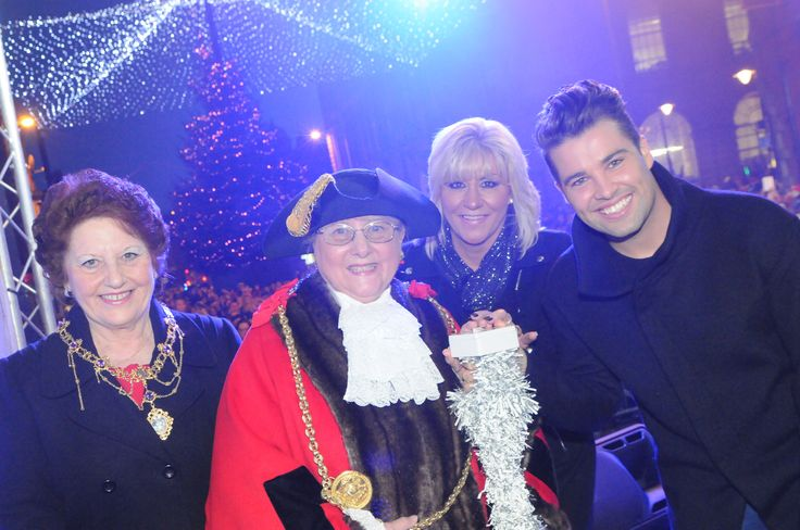 South Shields Christmas light switch on 2014.