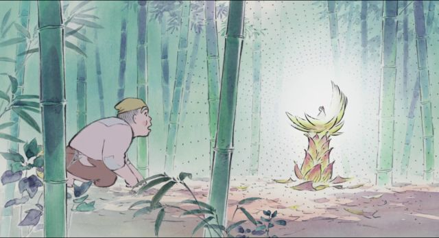 LE CONTE DE LA PRINCESSE KAGUYA  Il est des films dont on sait spontanément qu'on va les aimer. Grande amoureuse des films produits par les studios Ghibli (notamment Le voyage de Chihiro et M...