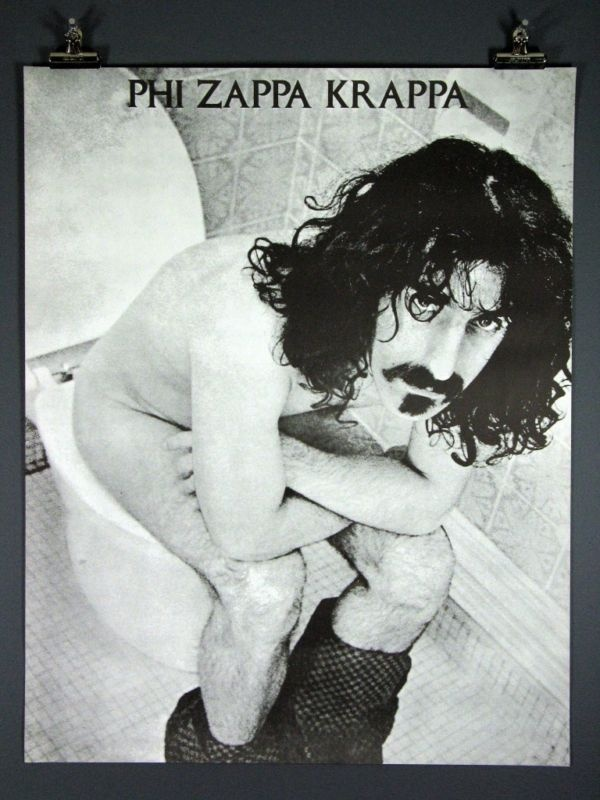 Image result for frank zappa  the ark 1968 poster