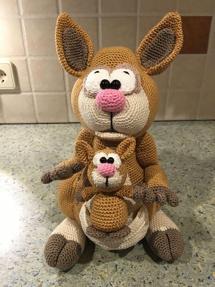Känguru nach Anleitung von dawanda