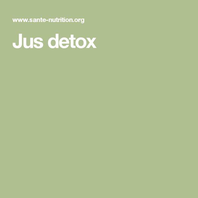 Jus detox