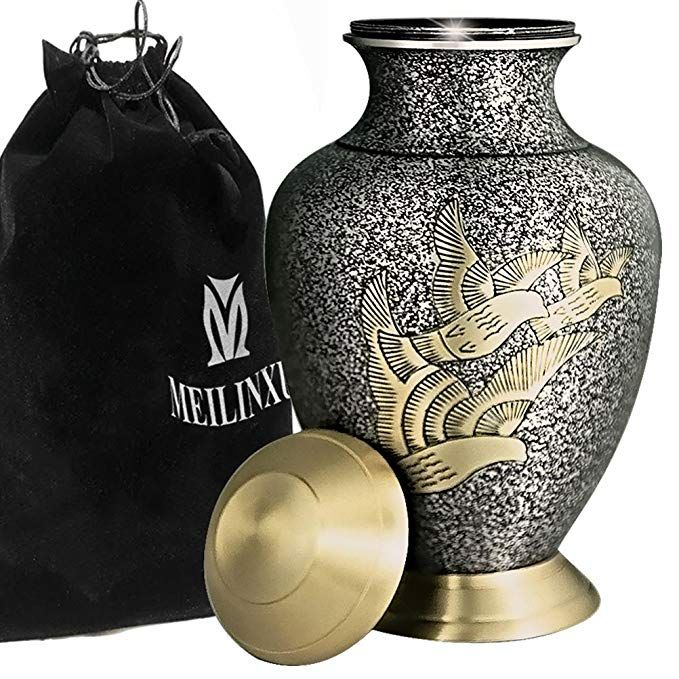 Royal Cremation Urn for Human Ashes Affordable Funeral Urn Adult urn