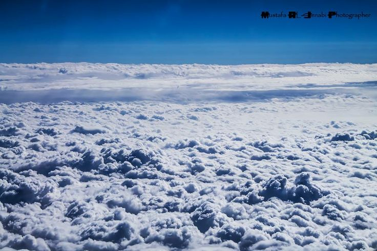 wanna walk above the clouds  Photographed by: Mustafa Al-Jenabi
