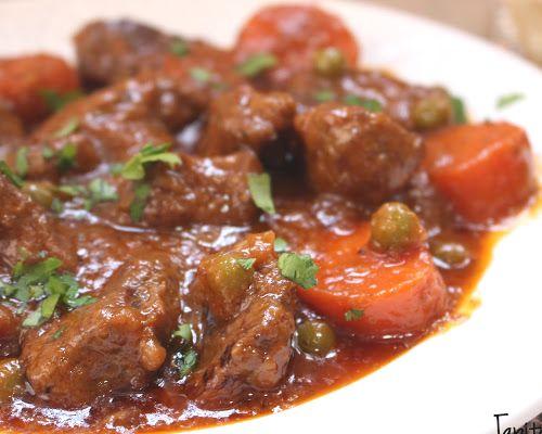 ragú de ternera en salsa con zanahorias – Recetas