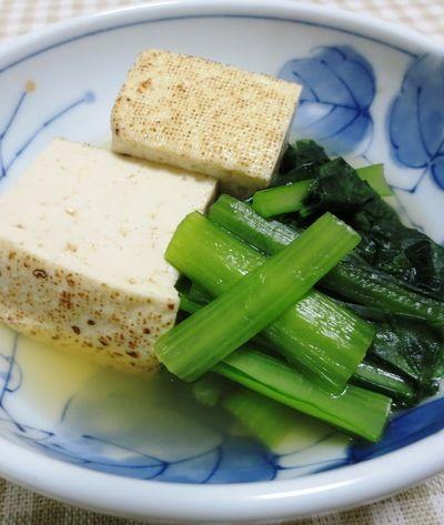 焼き豆腐と小松菜の煮物 by syu♪さん | レシピブログ - 料理ブログの ...